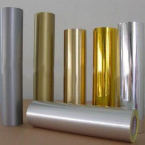 Металлизированная пленка (золото, серебро, бронза)